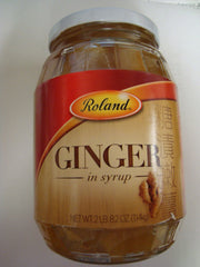 Roland Ginger in Heavy Syrup - 40.2 oz. Jar (#61114)