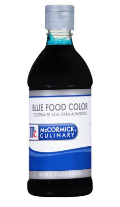 McCormick Food Color Blue - 16 oz. Jar