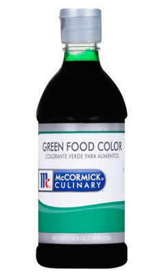 McCormick Food Color Green - 16 oz. Jar