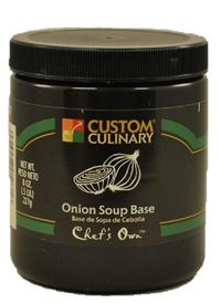 Custom Culinary Chef's Own Onion Base - 8 oz. Jar (#0506012008)