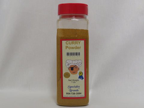 Curry Powder - 1 lb. Jar