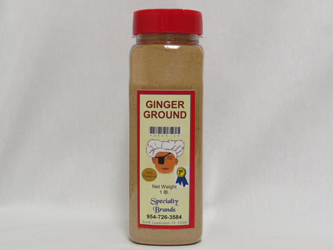 Ginger - 1 lb. Jar
