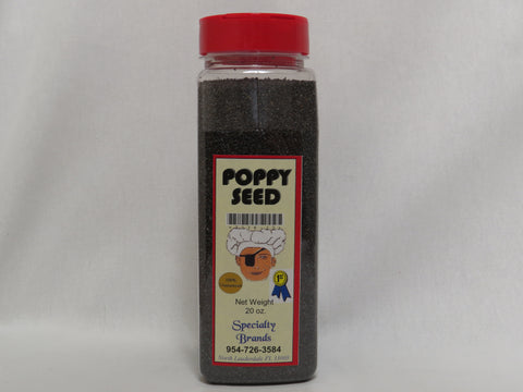 Poppy Seed - 20 oz. Jar