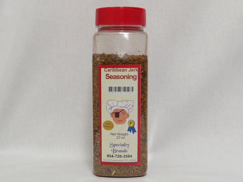 Specialty Brands Caribbean Jerk Seasoning- 23 oz. Jar (#3073-23)