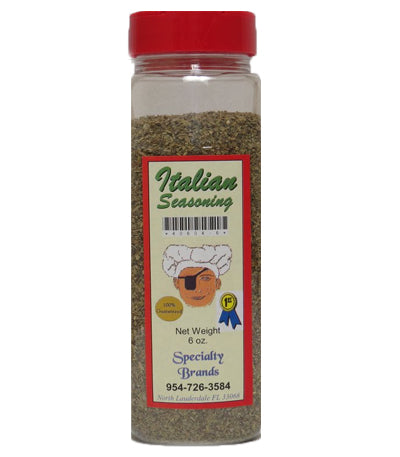 Specialty Brands Italian Seasoning - 6 oz. Jar (#40604-6)