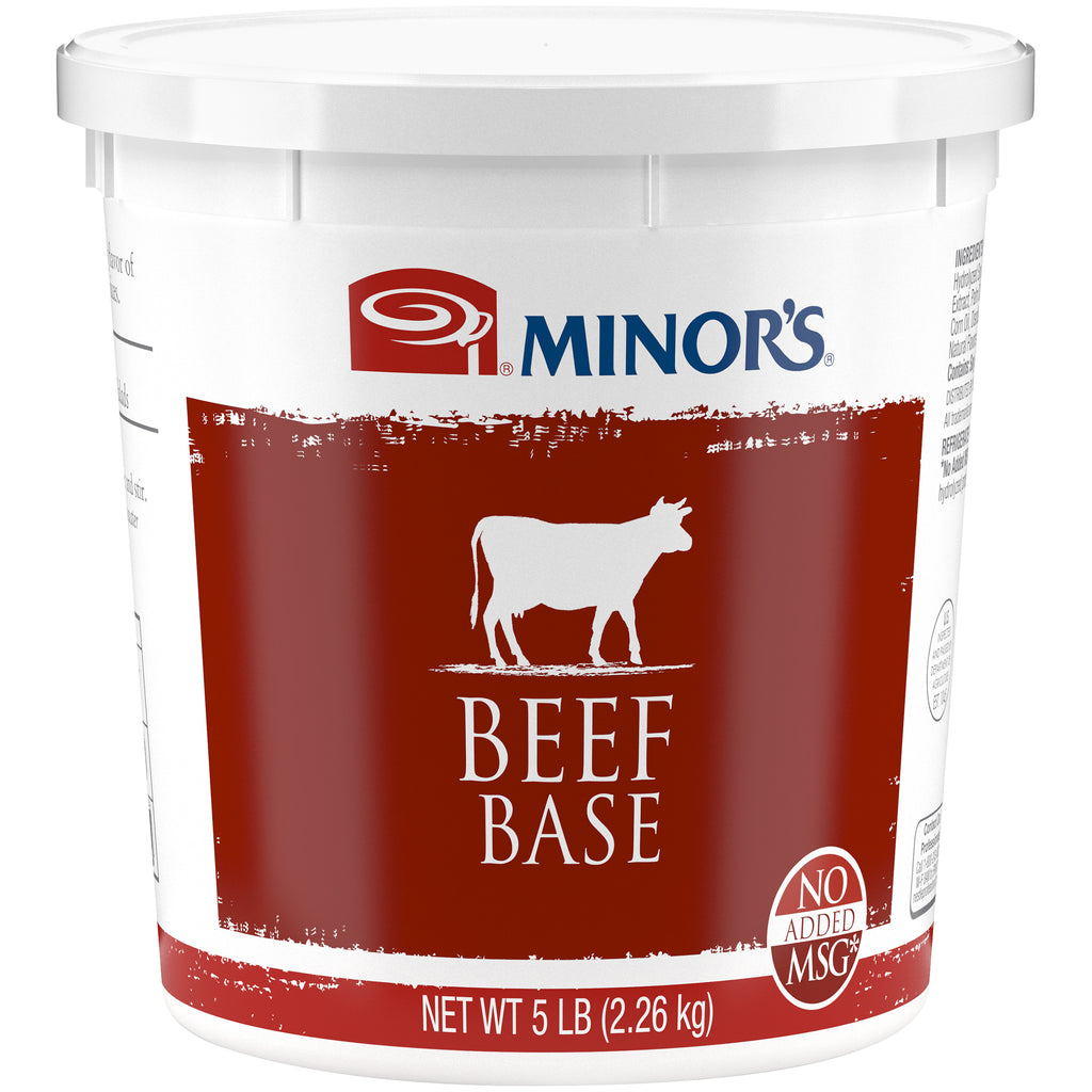 Minor's Beef Base No MSG Added - 5 lb. Pail
