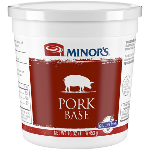 Minor's Pork Base - 1 lb. Cup