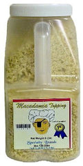Specialty Brands Macadamia Topping- 5 lb. Jar (#413-5)