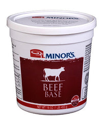 Minor's Beef Base - 5 lb. Pail (#330-04)