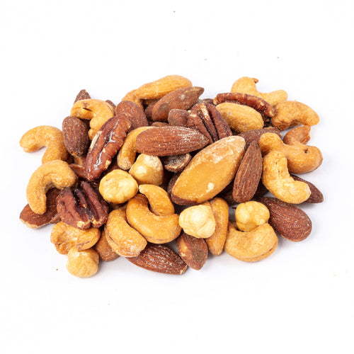 Mixed Nuts Salted No Peanuts - per lb. (#MX8)