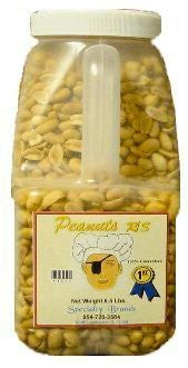 Specialty Brands Peanuts Roasted Salted - 6.5 lb. Jar (#450-5)