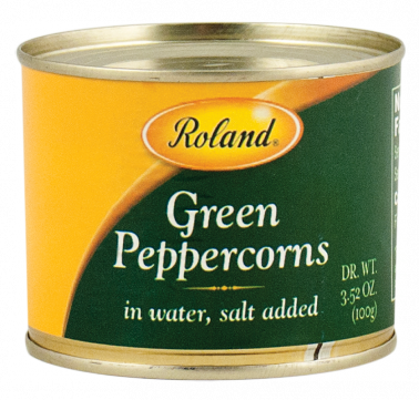 Roland Peppercorns Green - 3.5 oz. Tin