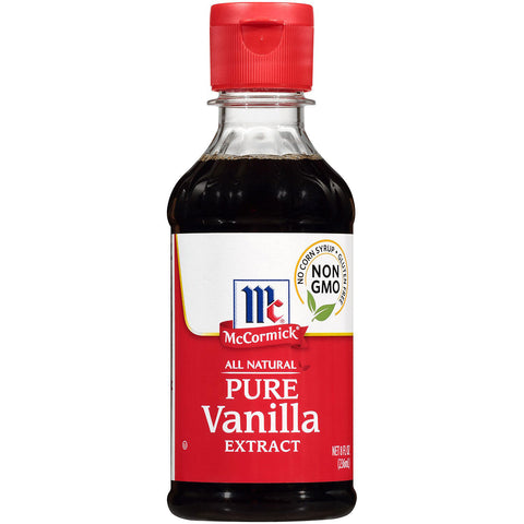 McCormick Vanilla Pure Extract - 8 oz. Jar (#164744)