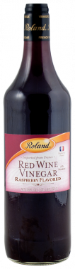 Roland Raspberry Red Wine Vinegar- 33.8 oz. Jar (#70570)