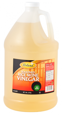 Roland Vinegar Seasoned Rice Wine - 1 Gallon Jug (#70520)