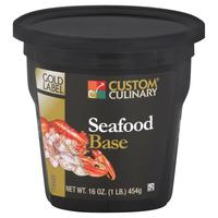 Custom Culinary Gold Label Seafood Base - 1 lb. Jar (#9512006001)
