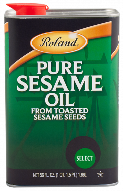 Roland Oil Sesame Pure - 56 oz. Can