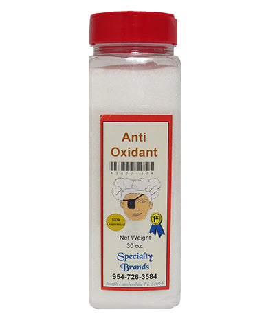 Specialty Brands Anti Oxidant - 30 oz. Jar (#3070-30)