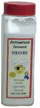 Specialty Brands Arrowroot - 1.25 lb. Jar