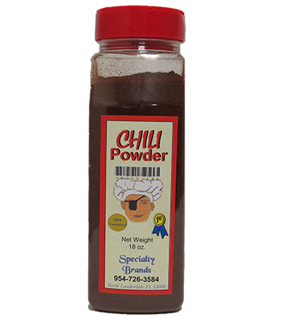 Specialty Brands Chili Powder - 18 oz. Jar (#3005-18)