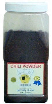 Specialty Brands Chili Powder - 5.5 lb. Jar (#3005-5)