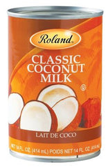 Roland Coconut Milk - 14 oz. Can (Item #86002)