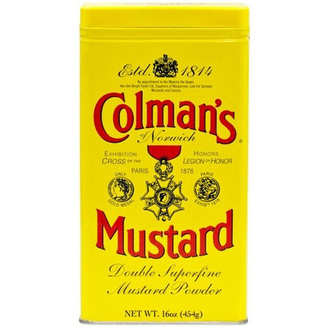 Colman's Mustard- 16 oz. Canister (#394211)
