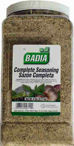 Complete Seasoning - 6 lb. Jar