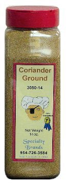 Coriander Ground - 14 oz. Jar