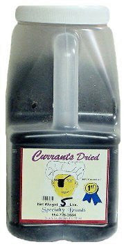 Specialty Brands Currants - 5 lb. Jar (#433-5)