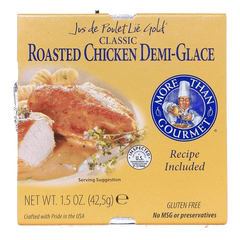 Roasted Chicken Demi Glace
