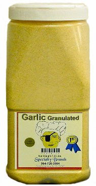 Garlic Granulated - 7.25 lb. Jar