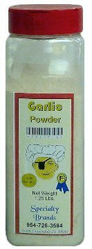 Garlic Powder - 1 lb. Jar