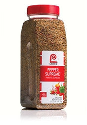 Lawry's Pepper Supreme - 21 oz. Jar (#32726)