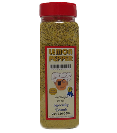 Specialty Brands Lemon Pepper Seasoning - 26 oz. Jar (#42784-27)