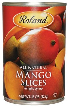 Roland Mango Sliced - 15 oz. Can