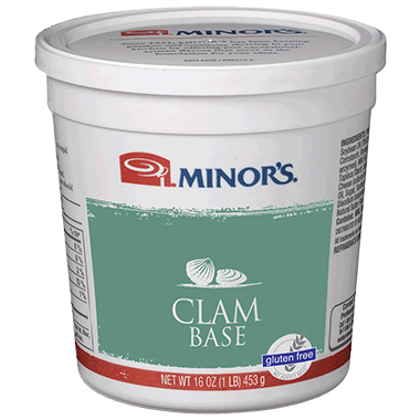 Minor's Clam Base No MSG Added - 1 lb. Jar