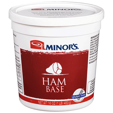 Minor's Ham Base - 1 lb. Cup (#259-06)