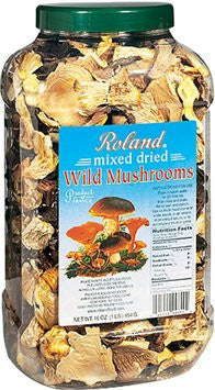 Roland Mushrooms Wild Forest - 1 lb. Jar