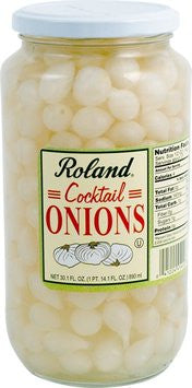 Roland Onions Cocktail - 1Qt. Jar