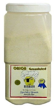 Onion Granulated - 5.75 lb. Jar