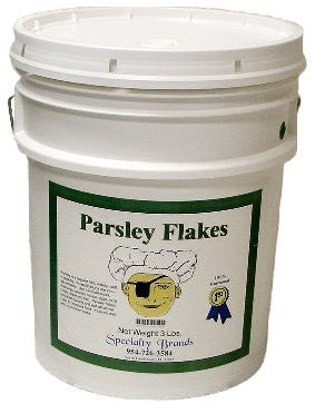 Parsley Flakes - 3 lb. Pail
