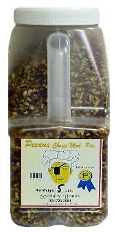 Pecans Choice Medium Pieces - 5 lb. Jar