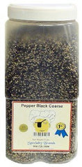Pepper Black Coarse - 5 lb. Jar