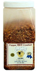 Pepper Red Crushed - 3.5 lb. Jar