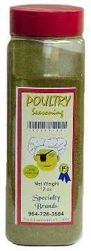 Specialty Brands Poultry Seasoning - 12 oz. Jar (#41134-12)