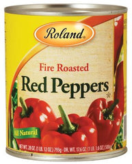Roland Roasted Red Peppers - 28 oz. Can