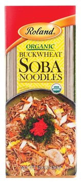Roland Buckwheat Soba Organic Noodles - 12.8 oz. Package
