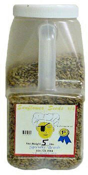 Sunflower Seeds - 5 lb. Jar