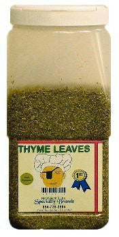 Specialty Brands Thyme Leaves - 2 lb. Jar (#3045-1)